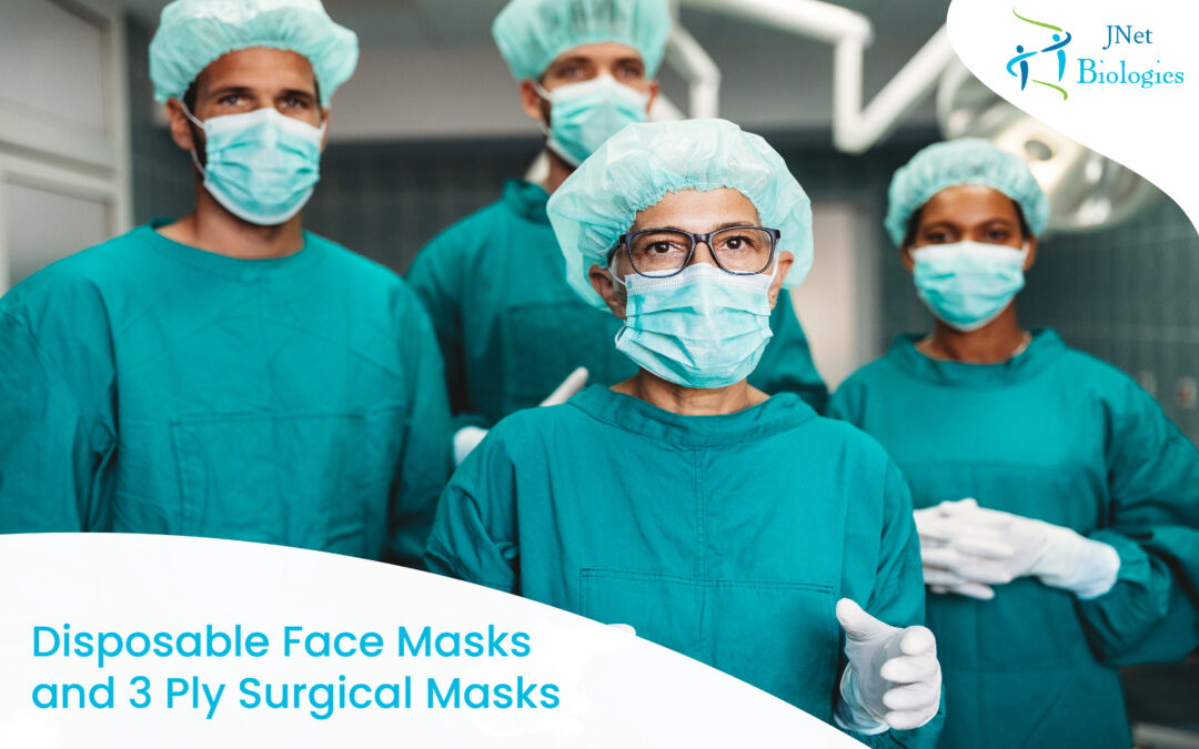 Disposable Face Masks and 3 Ply Surgical Masks